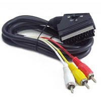 Кабель мультимедійний RCA - SCART, 1.8 m Cablexpert (CCV-519-001)
