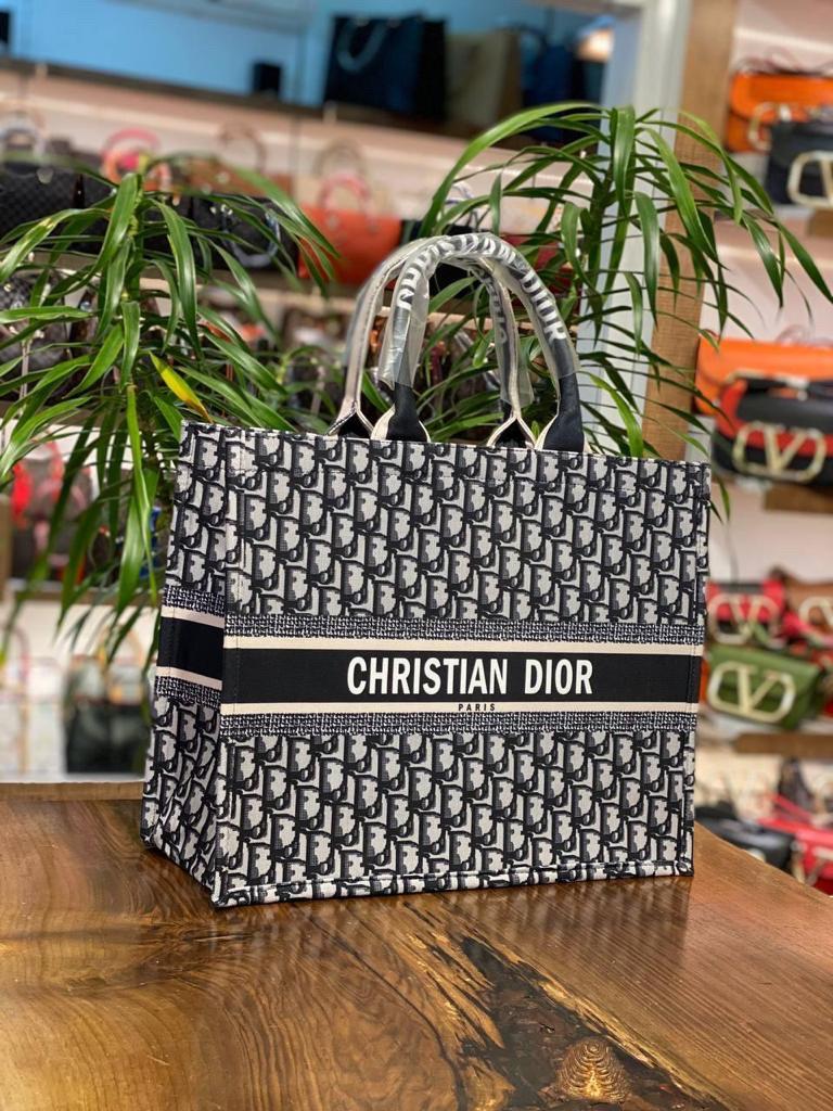 Жіноча сумка шопер/шопер діор/ Christian Dior (люкс копія)