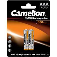 Аккумулятор Camelion AAA 600mAh Ni-MH R03 * 2 (NH-AAA600BP2)