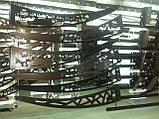 Готовий збірний дашок 1,5х1 м Фауна з сотовим полікарбонатом 6мм, фото 6