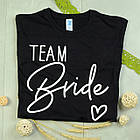 "Футболки для дівич-вечора ""Bride / Team Bride"", фото 3"