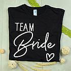"""Футболки с принтом на девичник """"Bride / Team Bride"""", фото 3"""