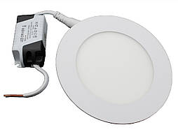 #443/1 6W SLIM PANEL (metal) Pure White Б-класс Светодиодный светильник