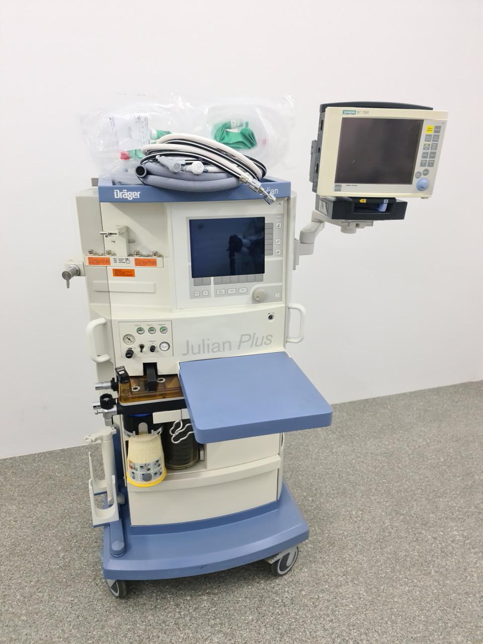 Dräger Julian Наркозный-дыхательный аппарат с монитором пациента