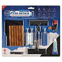 Набор для ремонта шин Oxford CO2 Tyre Repair Rapid Motorcycle Puncture Repair Kit (OX160)