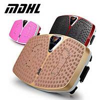 Вибрационная платформа для похудения MDHL розовая