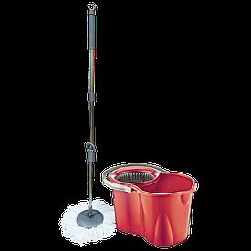Набор для уборки Planet Spin Mop Classic 19 л красный