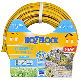 Шланг d12,5 мм 15 м Tricoflex Ultraflex HoZelock 117001