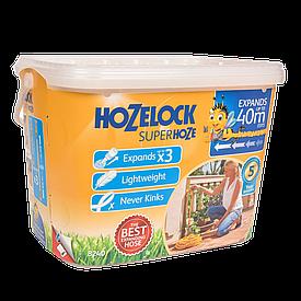 Шланг 40 м растягивающийся Superhoze + коннектора Hozelock 8240