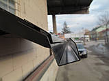 Готовий збірний дашок 1,5х1 м Хайтек з монолітним полікарбонатом 4 мм, фото 5