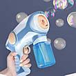 Дитячий генератор мильних бульбашок Пістолет мильні бульбашки з димовим ефектом, фото 2