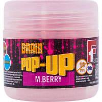 Бойл Brain fishing Pop-Up F1 M.Berry (шелковица) 10 mm 20 gr (1858.01.85)