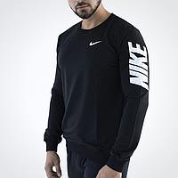 Мужской черный свитшот Nike