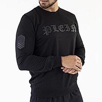 Свитшот мужской черный Philipp Plein / толстовка Филипп Плеин
