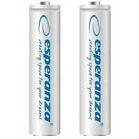 Аккумулятор Esperanza AA 2000mAh Ni-MH * 2 white (EZA103W)
