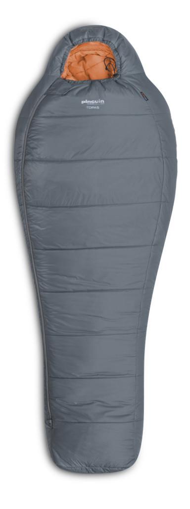 Спальний мішок Pinguin Topas (-1/-7°C) 195 см сірий