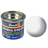 Аксессуары для сборных моделей Revell Краска эмалевая № 5. Белая матовая, 14 мл (RVL-32105)