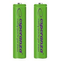 Аккумулятор Esperanza AAA 1000mAh Ni-MH * 2 green (EZA101G)
