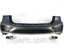 Задній бампер в стилі 63 AMG для Mercedes ML-Class W166 2011-2015 рр