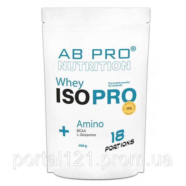 Протеин изолят AB PRO ISO PRO Whey+ Amino 450 г