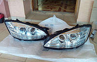 Передние фары на Mercedes S-Сlass W221 (оригинал) б/у Night vision