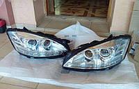 Передние фары на Mercedes S-Сlass W221 (оригинал) б/у Night vision, фото 1