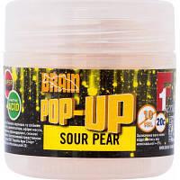 Бойл Brain fishing Pop-Up F1 Sour Pear (груша) 10 mm 20 gr (1858.01.87)