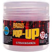 Бойл Brain fishing Pop-Up F1 Stravaganza (клубника с икрой) 10 mm 20 gr (1858.02.40)
