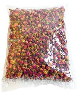 Бутоны чайной розы, 500 г. Фото оригинальное. Роза чайная сушеная - ИДЕАЛЬНЫЕ БУТОНЫ. Бутони троянди