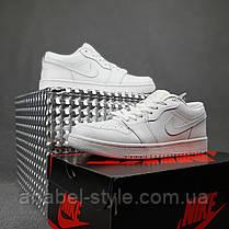 Мужские кожаные кеды Nike Jordan, фото 2