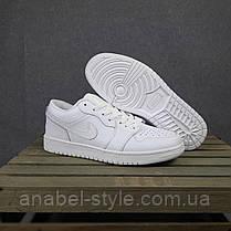 Мужские кожаные кеды Nike Jordan, фото 3