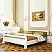 Кровать деревянная двуспальная Диана (бук), фото 3