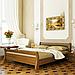 Кровать деревянная двуспальная Диана (бук), фото 4