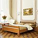 Кровать деревянная двуспальная Диана (бук), фото 6