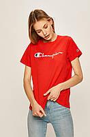 Жіноча футболка Champion, червона чемпіон, фото 1