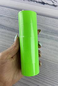 Цінники 40*30 мм 6 метрів Зелений