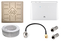 Комплект WiFi роутер 4G LTE Huawei B311As-853 с антенной RunBit Solo 17 дБи