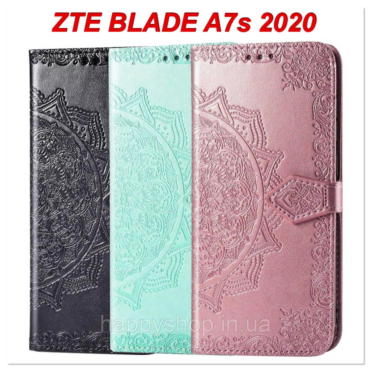 Чехол-книжка с визитницей для ZTE Blade A7s 2020