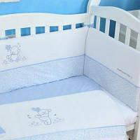 Детский постельный набор Верес Sweet Bear blue 3 ед. (153.1.07)