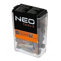 Набор бит Neo Tools PH2 x 25 мм, 20 шт (06-011)