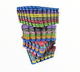 Килимок-пазл EVA , набір 12 шт, 3 м2, 50х50 см, т. 10 мм щільність 80-100 кг/м3 TERMOIZOL®, фото 8