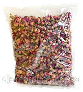 Бутоны чайной розы, 1 кг. Фото оригинальное. Роза чайная сушеная - ИДЕАЛЬНЫЕ БУТОНЫ. Бутони троянди