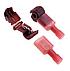 З'єднувач електричний з врізним контактом для швидкого підключення до кабелю AWG 22-18; 0.5-1.0мм2, фото 2