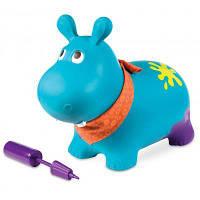 Гойдалка Battat Баттатопрыгун Гіпопотам-там-там з насосом Блакитний (BX1505Z)