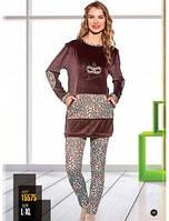 Велюровый костюм Lady Lingeriе - 15575