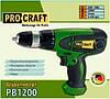 Мережевий шуруповерт ProCraft PB1200, фото 2