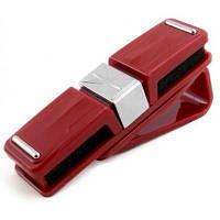 Універсальний автотримач EXTRADIGITAL для окулярів Glasses Holder Red (CGH4122)