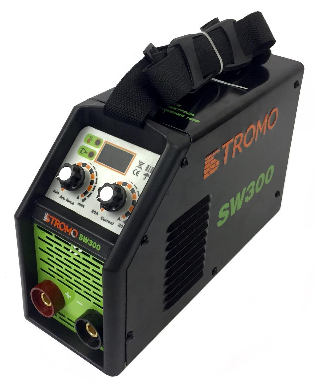 Зварювальний інверторний апарат Stromo (SW-300)