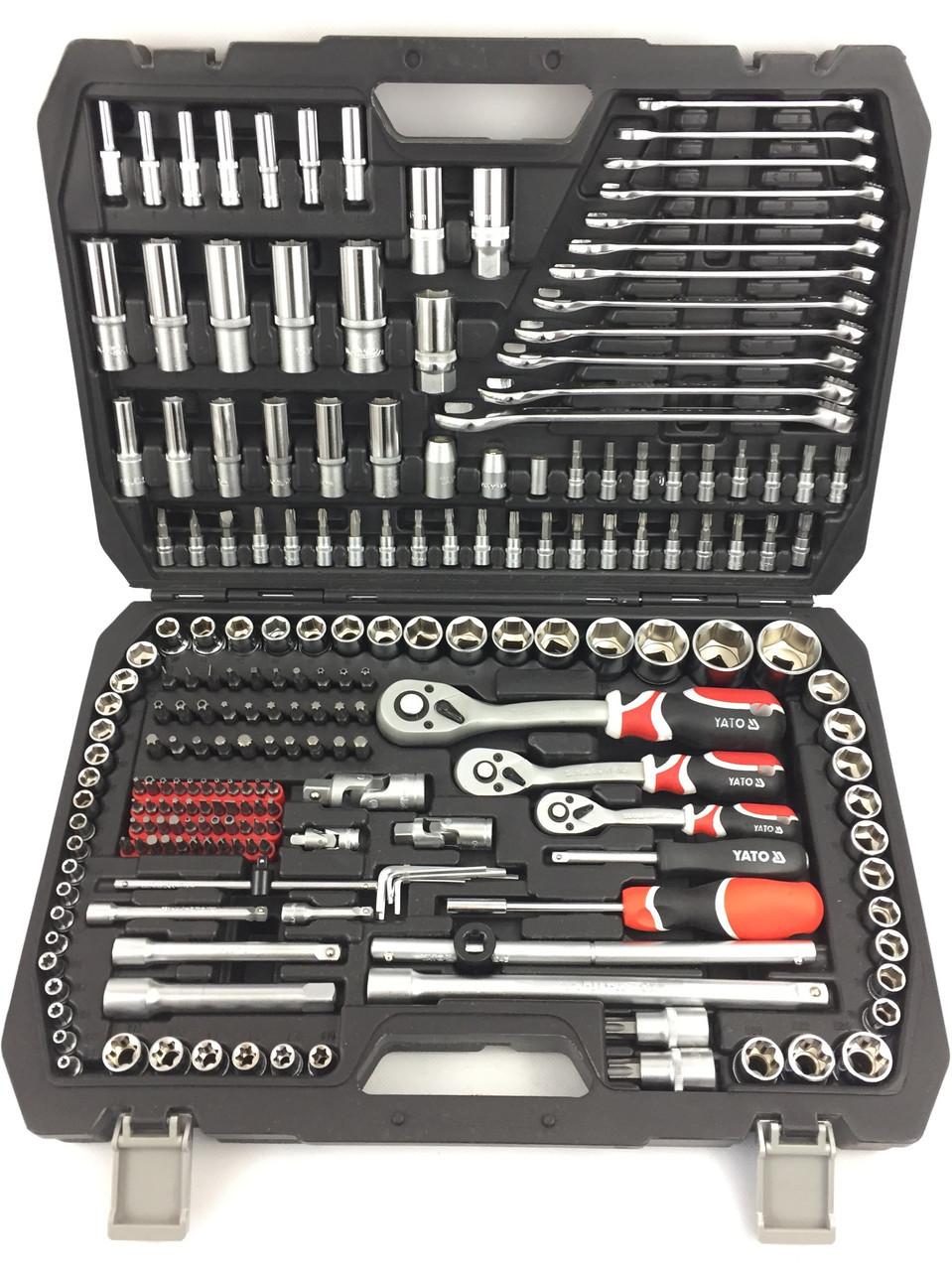 Профессиональный набор инструментов Yato 216 шт. (YT-3884)