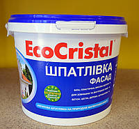 Водно- акриловая фасадная  шпаклевка  ИР-21 EcoCristal Ирком ( 4,5 кг)